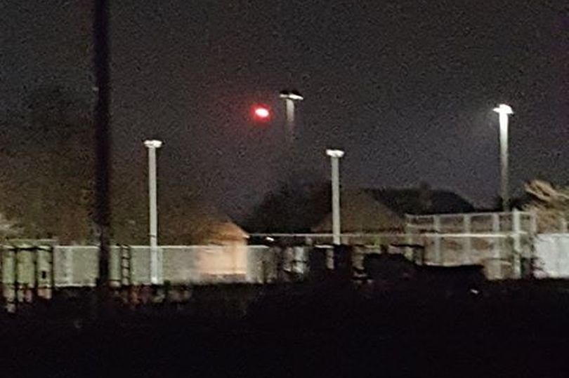 Avvistamento UFO Spring Bank