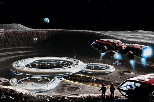 Veicoli spaziali luna e Marte