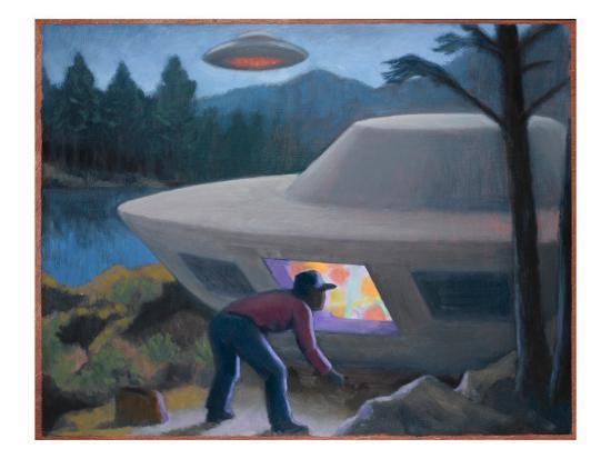 Falcon Lake Avvistamento UFO
