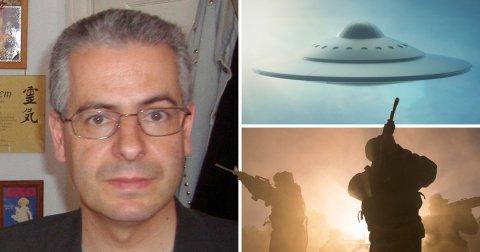 Nick Pope è un esperto di UFO che ha anche esperienza nell'antiterrorismo