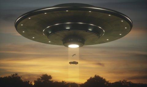 Questa è la vista cliché di un UFO